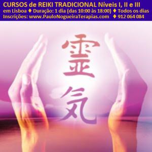 Cursos de Reiki Tradicional em Lisboa com Paulo Nogueira