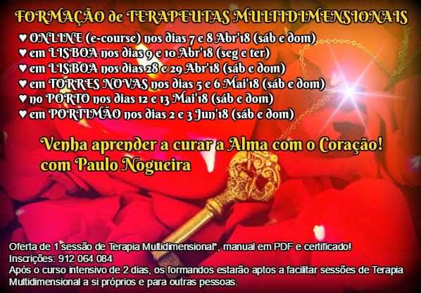 CURSO DE TERAPIA MULTIDIMENSIONAL combinado com Paulo Nogueira