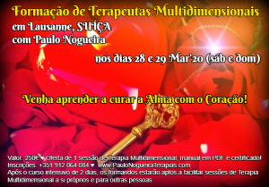 Curso de Terapia Multidimensional Lausanne 2020