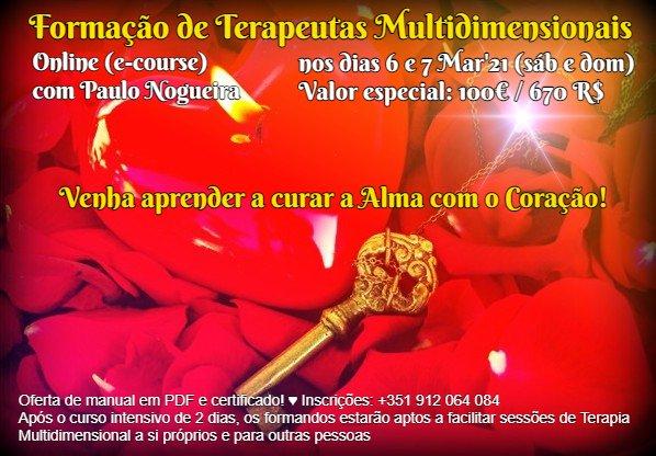 Curso de Terapia Multidimensional Online a 6 e 7 Mar2021
