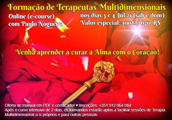Curso de Terapia Multidimensional Online - 3 e 4 Jul'21